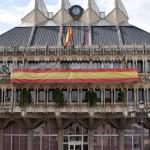 Fervor monárquico en la Plaza Mayor de Ciudad Real
