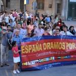 La iglesias evangélicas de la provincia salen a la calle en Ciudad Real para «orar por España»