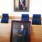 Ciudad Real: Un retrato de Felipe VI presidirá a partir de mañana el salón de plenos del Ayuntamiento