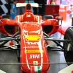 Ciudad Real: Últimas horas para probar el simulador de F-1 y ver la réplica del Ferrari de Alonso en los Jardines del Torreón