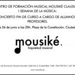 Ciudad Real: Mousiké celebra el fin de curso con un concierto en la Plaza de la Constitución
