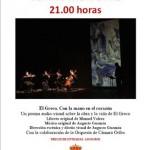 Greco: Con la mano en el corazón, de Guzmán y Valero, recala este sábado en el Teatro Municipal de Almagro
