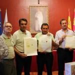 Almagro: Manuel Vargas recibe el premio del concurso de la nueva imagen de la Cooperativa Nuestra Señora de las Nieves