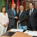 El Colegio de Industriales y Globalcaja firman un acuerdo de colaboración