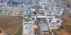Polígono industrial de Manzanares, donde se encuentra una de las instalaciones precintadas