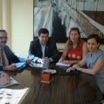El alcalde de Bolaños se reúne con Gas Natural para tramitar la instalación de esta energía en el municipio
