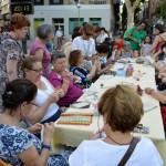 Ciudad Real: Aficionadas al patchwork cosen una colcha con retales de esperanza para los niños cáncer
