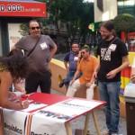 Ciudad Real: El PCE recoge firmas por el referéndum