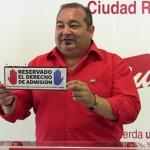 """Ciudad Real: IU pone en marcha la campaña """"Reservado el derecho de admisión"""" para informar de la """"tramposa"""" reforma electoral en Castilla-La Mancha"""