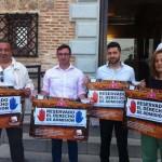IU CLM presenta su campaña «reservado el derechos de admisión» contra la reforma electoral del PP