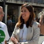 Ciudad Real: Los datos del paro llenan de «alegría e ilusión» a Rosa Romero, que ve «la luz al final del túnel con más fuerza»