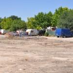 El Ayuntamiento de Ciudad Real limpia la barriada chabolista de San Martín de Porres