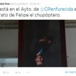 Ciudad Real: IU justifica la publicación del tuit sobre el Rey 'chupóptero', aunque su portavoz la desconocía