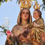 """Otra Romería de Alarcos con la """"delicada"""" imagen de la Virgen sin restaurar"""