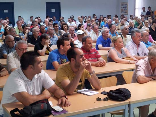 Asamblea de socios del CD Puertollano