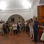 """La artista Olga Alarcón expone en Almagro su """"Encuentro con Kandinsky"""""""