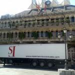Ciudad Real: Una Pandorga sobre ruedas calienta motores