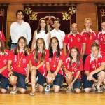 Ciudad Real: La alcaldesa clausura los campus municipales de fútbol y raqueta