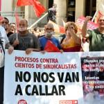 """UGT y CCOO condenan la """"injerencia"""" de los poderes públicos en la actividad sindical y la """"criminalización"""" del derecho de huelga"""