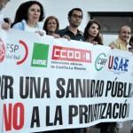 """Trabajadores sanitarios de Ciudad Real ponen """"sus barbas a remojar"""" ante la posible privatización del Hospital de Toledo"""
