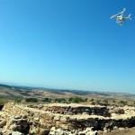 Drones arqueológicos sobrevuelan los yacimientos de Terrinches, en el Campo de Montiel