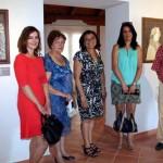 El Patio de Comedias de Torralba de Calatrava acoge los dibujos de José Hernández Quero, artista andaluz, hasta el 31 de agosto