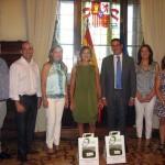 AMFAR y el Ayuntamiento de Membrilla presentan FERIMEL a la Ministra de Agricultura