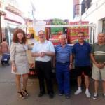 El Ayuntamiento de Herencia entrega más de 3.000 kilos de alimentos a Cáritas para ayudar a unas 180 familias
