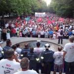Puertollano está harto: 12.000 personas retoman la épica del pasado para exigir el fin de la infamia