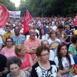 Puertollano: Trabajadores de la televisión regional piden la dimisión de Villa por «silenciar» la manifestación de Elcogas