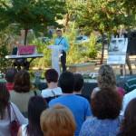 Manzanares mantiene viva la llama de la memoria de Miguel Ángel Blanco