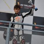 Argamasilla de Calatrava: David García consigue el tercer puesto en la carrera de motos Cuna de Campeones
