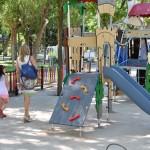 La obras de ampliación coincidirán con su centenario en 2015: El Parque de Gasset dispondrá en agosto de una nueva zona de juegos infantiles