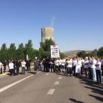 Los trabajadores de Elcogas lamentan que aún no tengan noticias del Consejo de Administración ni de Cospedal