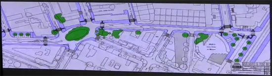 Plano itinerario accesible Camino Viejo de Alarcos