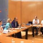La alcaldesa de Puertollano y los diputados del PSOE en el Congreso se reúnen con los sindicatos para defender la viabilidad de Elcogas