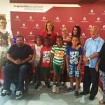 Argamasilla de Calatrava recibe a los niños saharauis