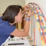 Un Campus Científico de Verano de la UCLM enseña los mecanismos que rigen el diseño tecnológico de un puente