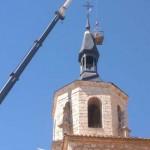 Daimiel: Comienzan las obras de restauración de la torre principal de la Iglesia de San Pedro