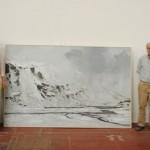 """La pintura """"Myrdal nº2"""" de Calo Carratalá, Medalla de Oro de la 75 Exposición Internacional de Artes Plásticas de Valdepeñas"""