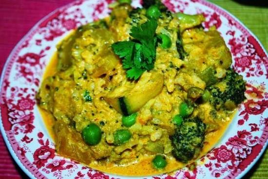 verduras indias