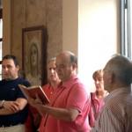 """La Real Hermandad de la Soledad, de la Vera Cruz y de San Cristóbal de Villarrubia de los Ojos abre la exposición """"400 años mirando a la Cruz con los ojos de María"""" en el Museo local"""