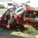Herido grave un hombre de Puertollano tras la colisión de dos vehículos en la carretera de Aldea del Rey
