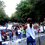 Puertollano: Munición de palabras y notas musicales para denunciar la masacre de Gaza