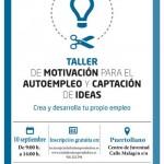 Puertollano: Taller de motivación y captación de ideas de AJE para jóvenes emprendedores
