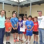 Almagro: Diego López se impone en el XX Torneo de tenis de mesa categoría sub-14