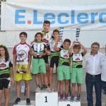 El club ciclista almagreño desempeña un buen papel en el XII Trofeo E´leclerc