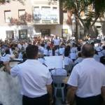 La Banda de Música de Ciudad Real llena una vez más la Plaza Cervantes