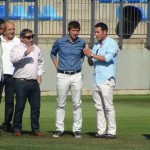 El Cerrú de Puertollano, bajo la lupa de Celades: El seleccionador nacional sub-21 revisa por segunda vez el campo ante el duelo entre España y Austria