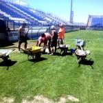 Puertollano: El Cerrú se peina para recibir a la Selección Nacional de Fútbol Sub 21